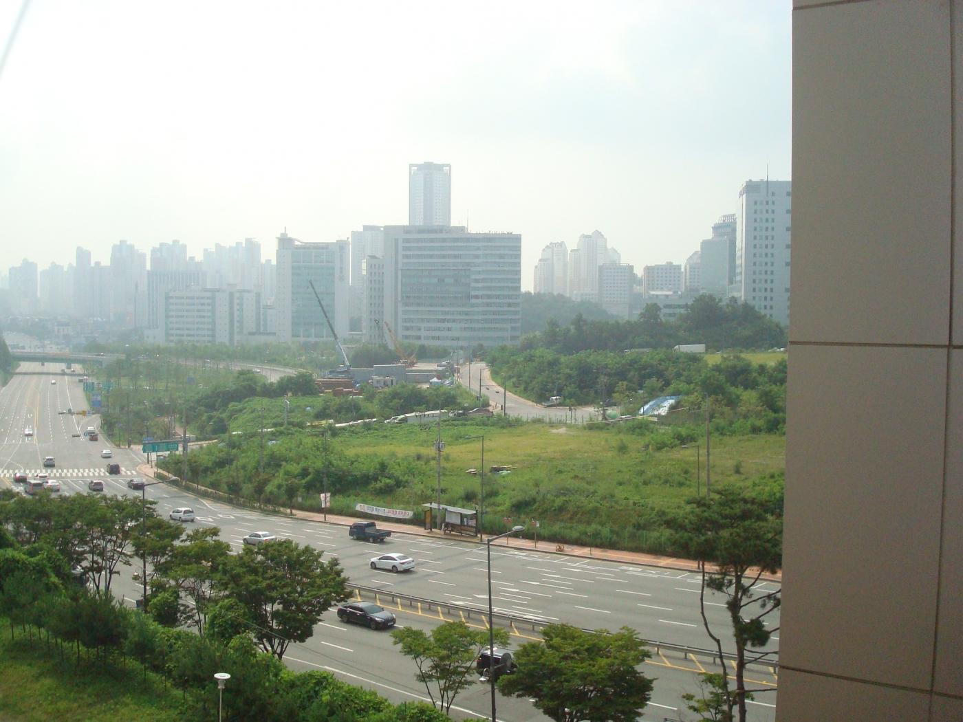 Korea 9-Blick aus dem Dorm